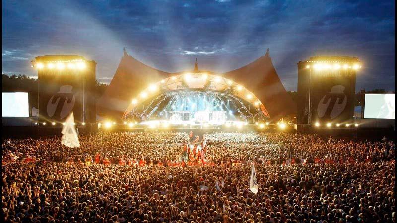 Музыкальный фестиваль Roskilde в Дании