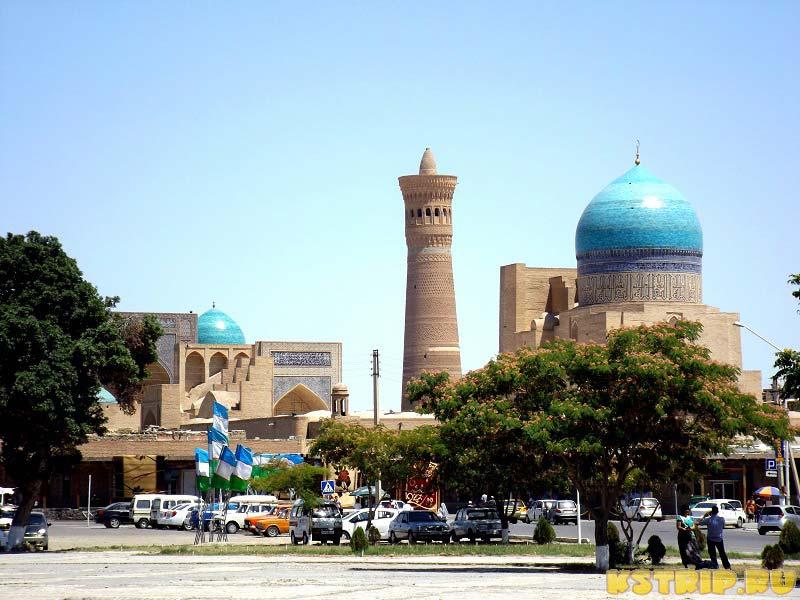 Самостоятельное путешествие в Узбекистан