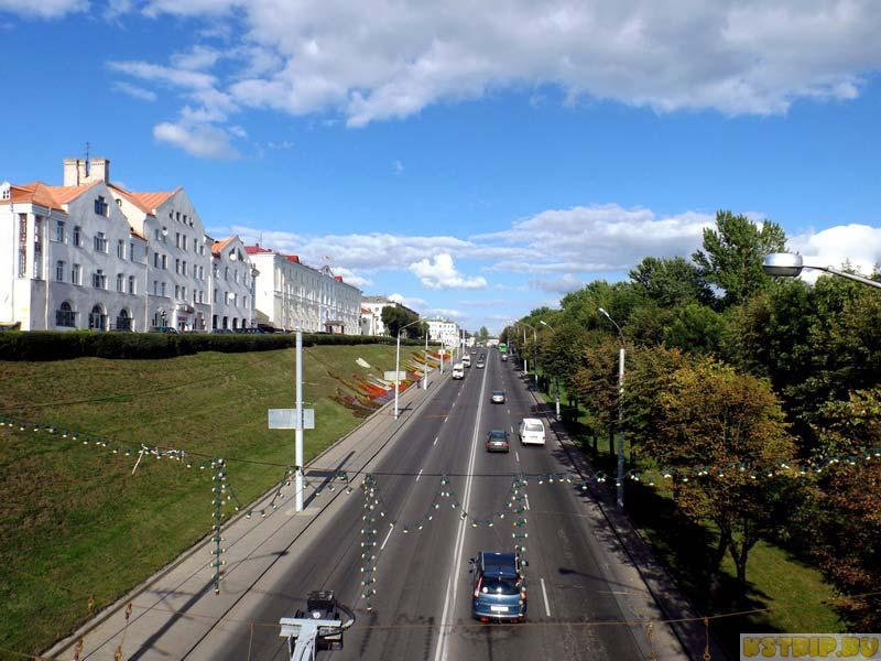 Дороги в Могилеве