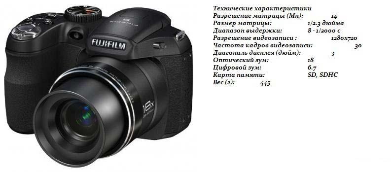 обзор фотоаппарата Fujifilm