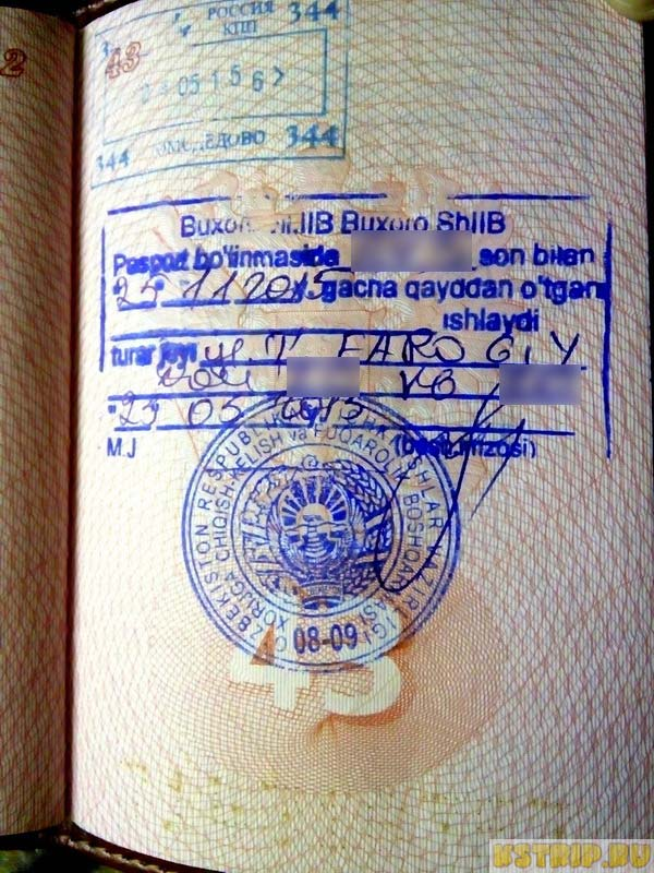 Регистрация в Узбекистане на 6 месяцев