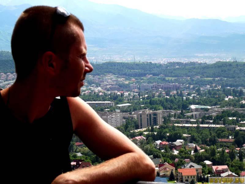 Вид на город Алматы с Кок-Тобе