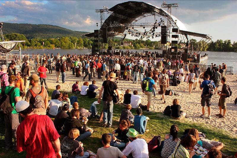 Музыкальный фестиваль Eurockeennes