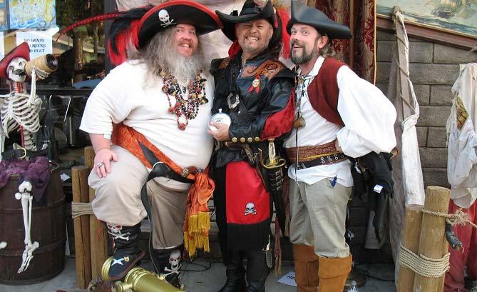 день подражания пиратам