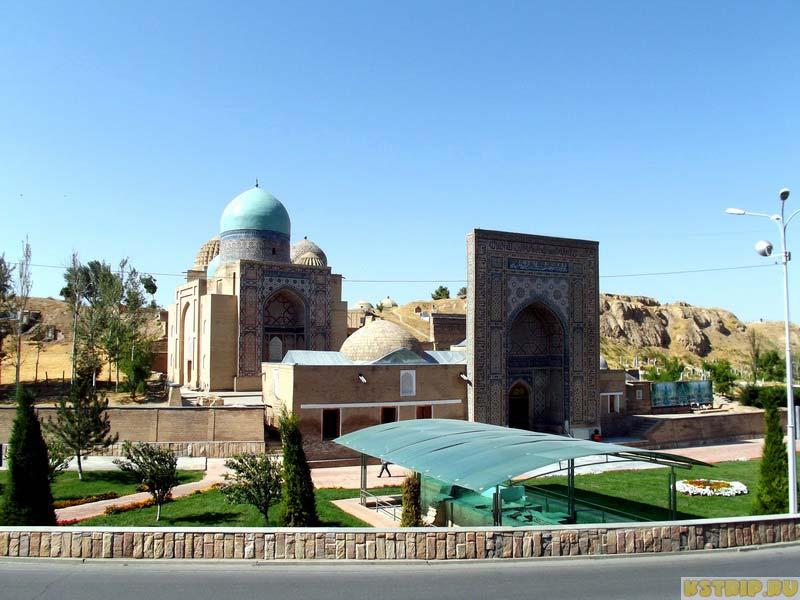 Комплекс Шахи Зинда в Самарканде, Узбекистан, экскурсии в Самарканде