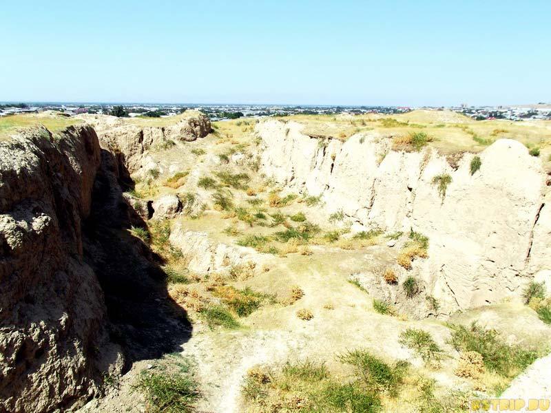 Городище Афросиаб в Самарканде