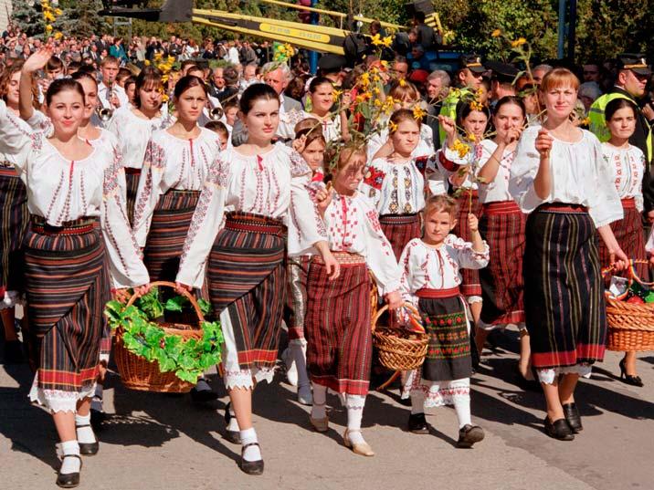 день вина в Молдавии