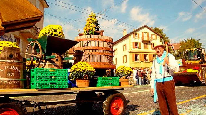 Фестиваль вина в Швейцарии