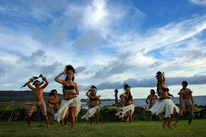 Фестиваль Tapati Rapa Nui на острове Пасхи