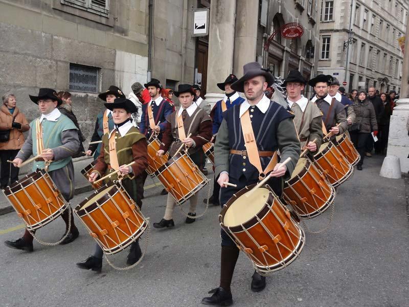 Фестиваль Эскаляд в Швейцарии