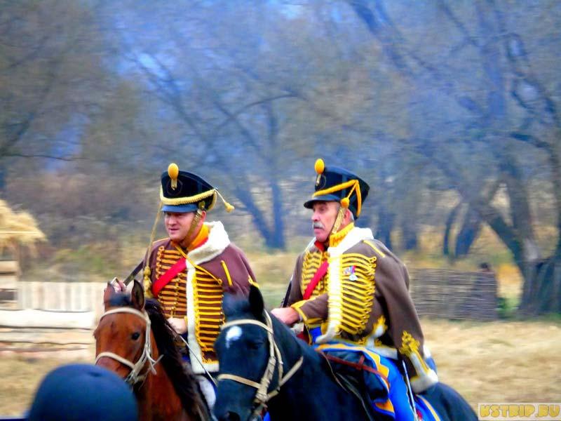 реконструкция сражения 1812 года в Малоярославце