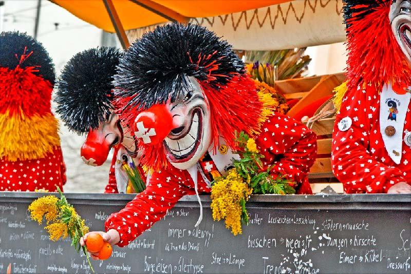 Карнавал в Базеле - Фаснахт