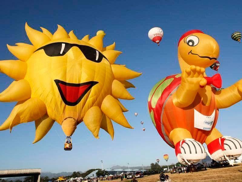 фестиваль воздушных шаров на Филиппинах