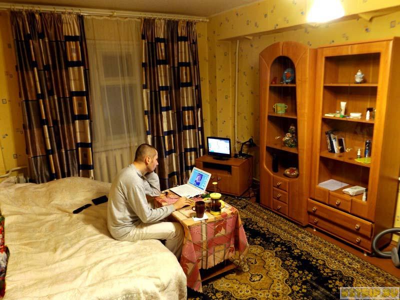 влог о нашей съёмной квартире в Калуге