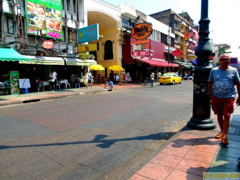 Экскурсии в Бангкоке. Каосан роад