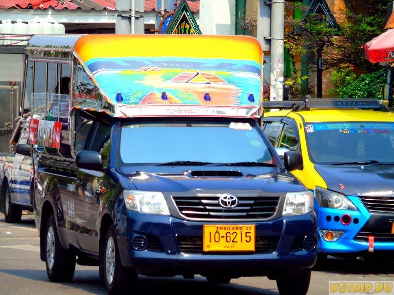 Сонгтео, или тук-тук, в Паттайе: маршруты движения, цены и особенности пользования