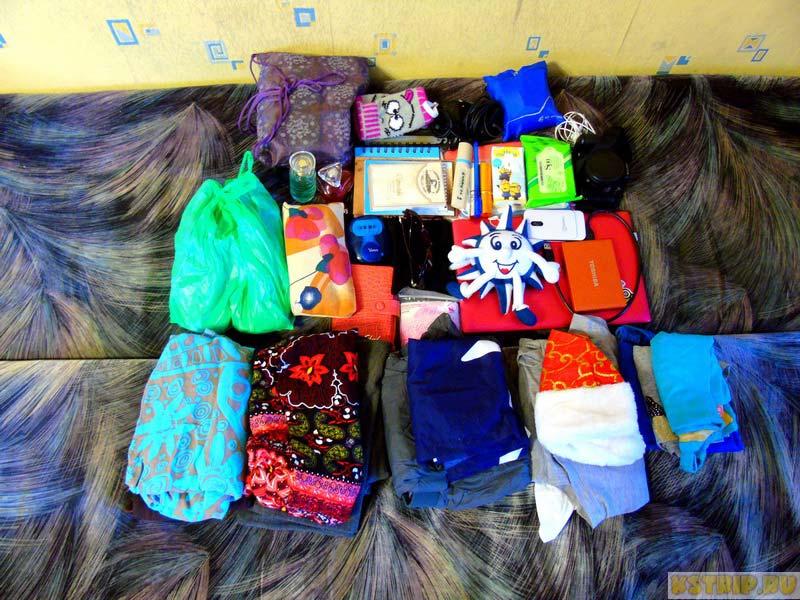 собираем рюкзак для поездки в Азию