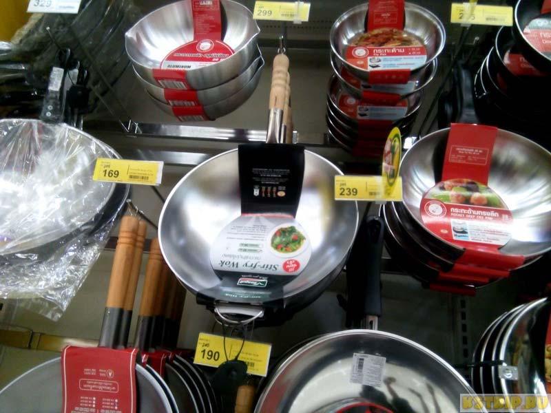 сковорода для приготовления пад тая