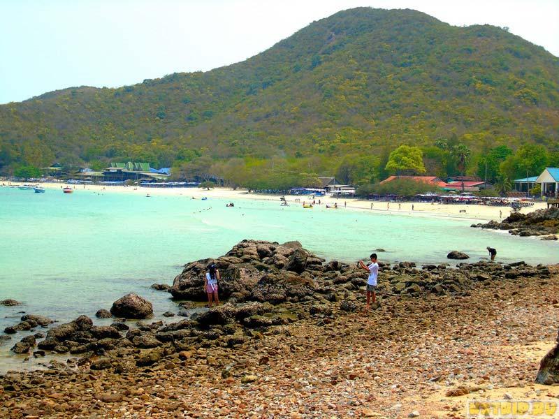 Остров Ко Лан: пляж Тиен (Tien)
