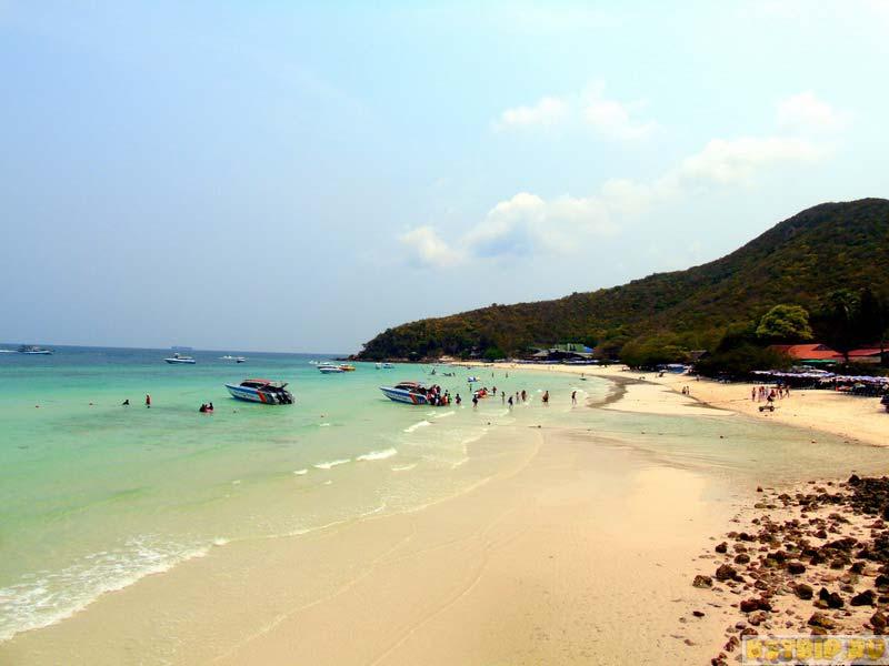 Курорты Таиланда, Остров Ко Лан: пляж Тиен (Tien)