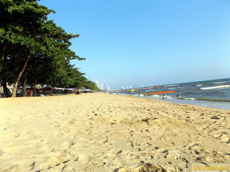 Пляж Джомтьен (Jomtien) в Паттайе