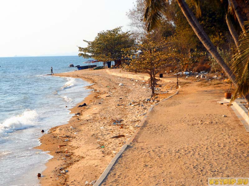 Пляж Наклыа в Паттайе