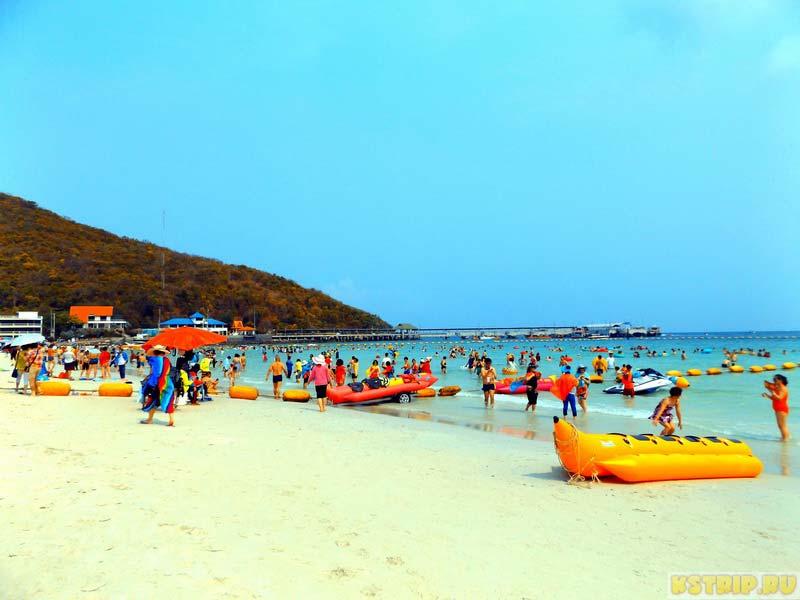 Остров Ко Лан: пляж Таваен (Tawaen)