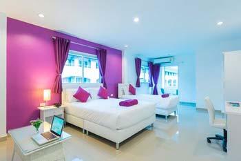 Недорогие отели у моря в районе Джомтьен в Паттайе