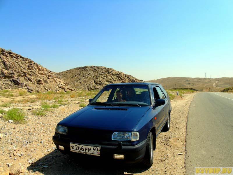 российская машина в Узбекистане