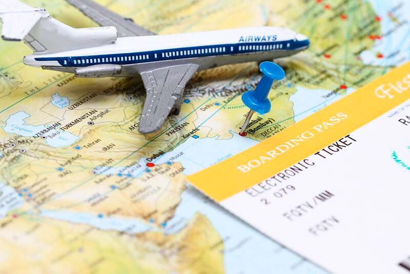 купить авиабилеты онлайн, самолет, карта, авиабилет