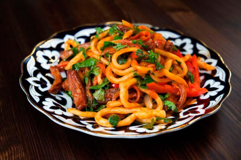 Узбекская кухня: лагман – особенности + рецепт приготовления