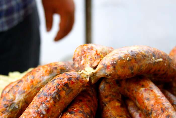 Узбекская кухня: колбаса домашнего приготовления из ливера – хасып