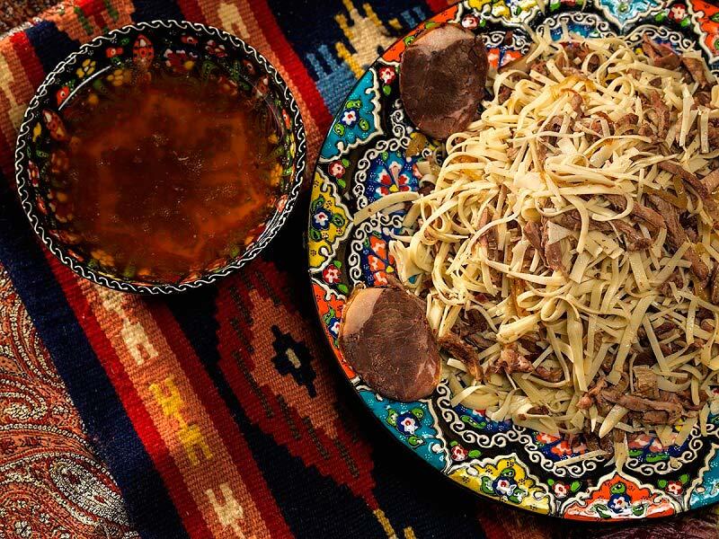 узбекское блюдо нарын