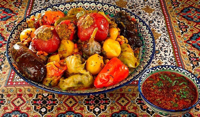 узбекское блюдо долма