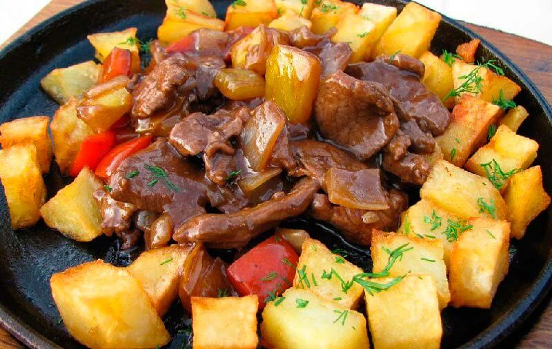 узбекское блюдо кавардак