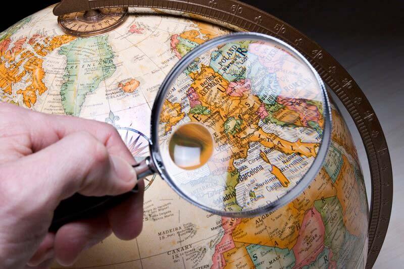 глобус, лупа, Какие русские слова лучше не произносить за границей