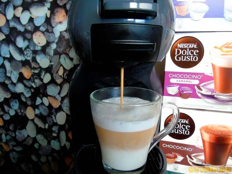 готовим кофе дольче густо