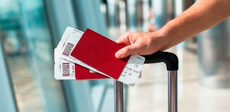 паспорт, авиабилет
