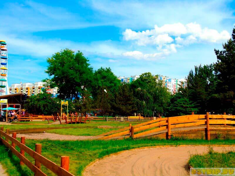 Парк «Планета» в Астрахани – аттракционы для детей