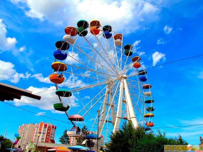 Парк «Планета» в Астрахани