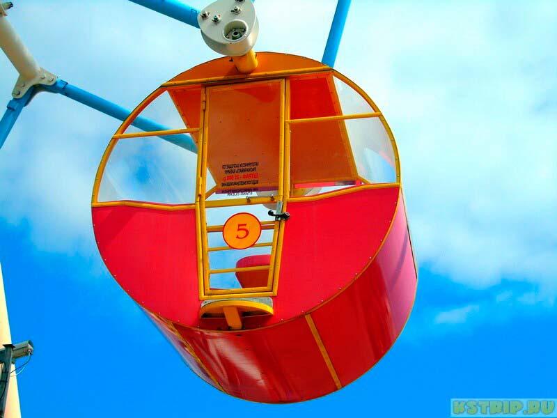 в лазаревском колесо обозрения фото