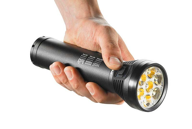 выбрать ручной фонарик
