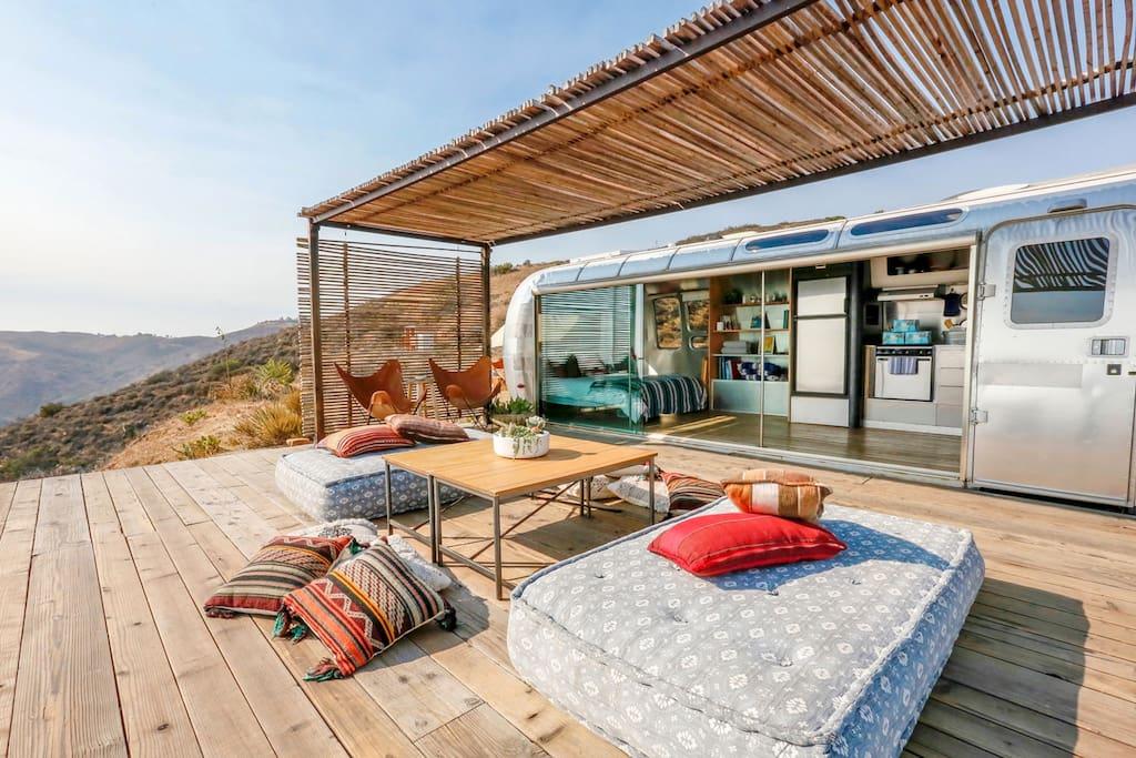 Необычные отели на airbnb