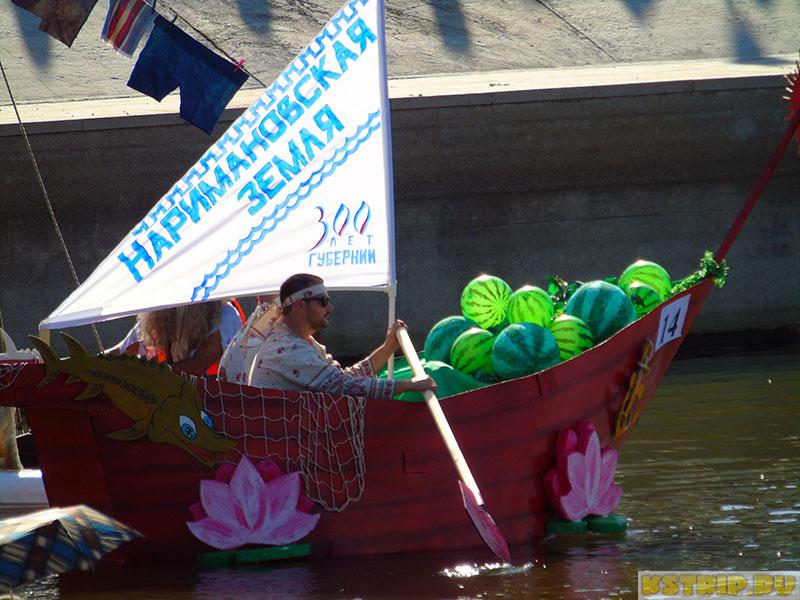 Каналия 2017 - фестиваль нетрадиционных плавательных средств