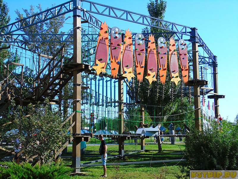 Верёвочный парк в Астрахани