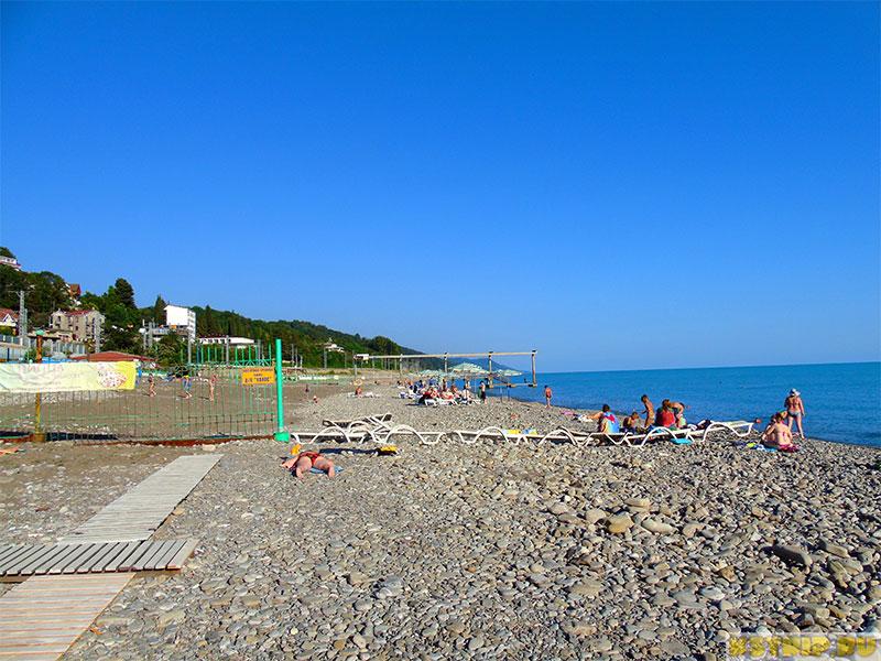 убрать песчаный пляж в лазаревском фото новой
