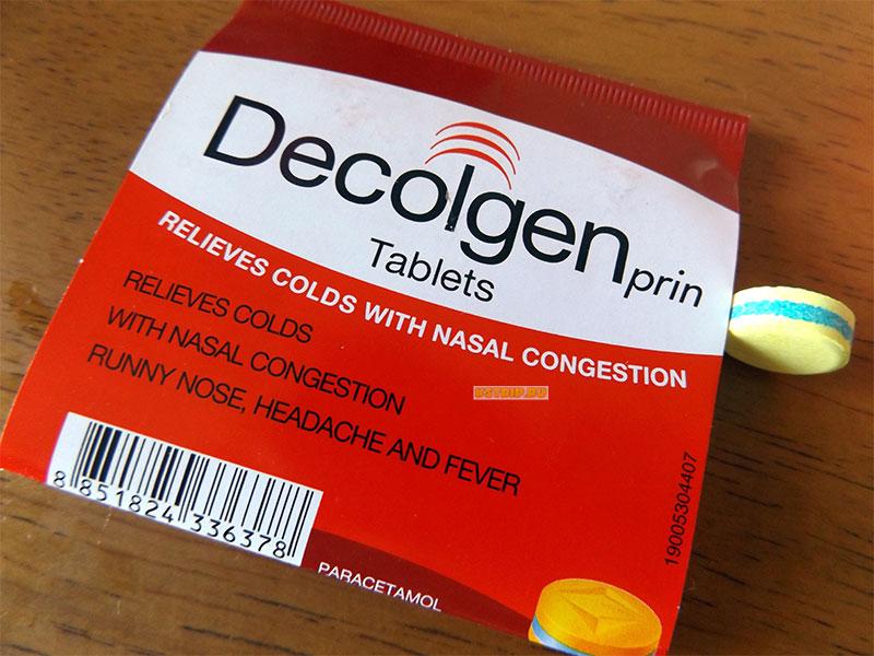 Лекарства от простуды, кашля и насморка в Таиланде