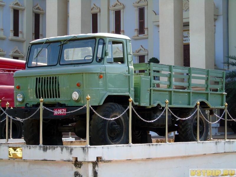 Музей народной безопасности (People's Security museum) во Вьентьяне + выставка советской техники
