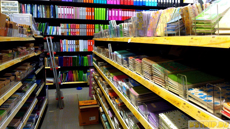 Где купить канцелярские товары в Паттайе – блокноты, ручки, книги