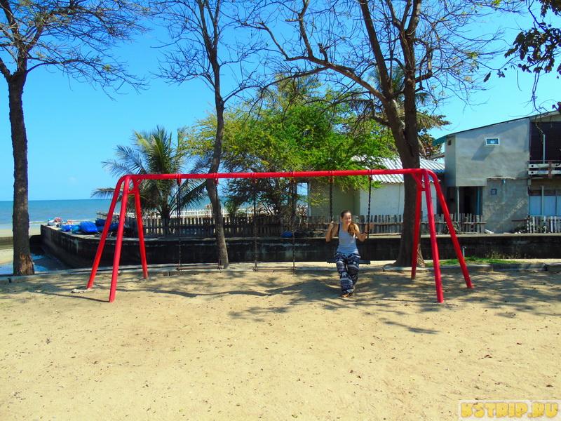 Hua Hin Queen's park – небольшой сквер на берегу моря в Хуа Хине